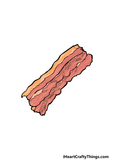 how to draw Bacon image